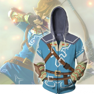 The Legend of Zelda Cosplay Costume Hoodie Sweatshirt