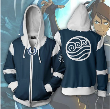 Fashion Hoodies Avatar The Legend of Korra