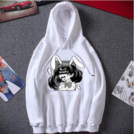 New Hoodies Sweatshirts Waifu Material Hoodies