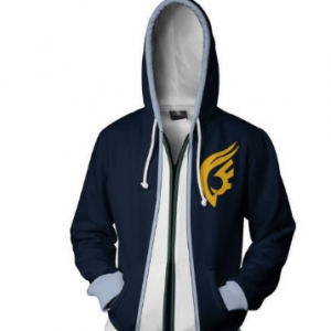 Autumn Winter 3D Print Anime Fairy Tail Cosplay Hoodies